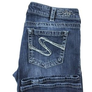 Silver Aiko Bootcut Medium Wash Jeans